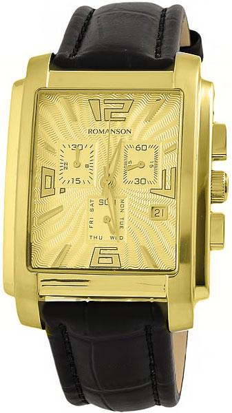 Мужские часы Romanson TL5140HMG(GD) romanson rm 9207q lj gd