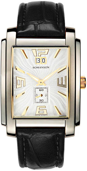 Мужские часы Romanson TL5140SMC(WH)