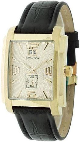 Мужские часы Romanson TL5140SMG(GD) romanson rm 9207q lj gd