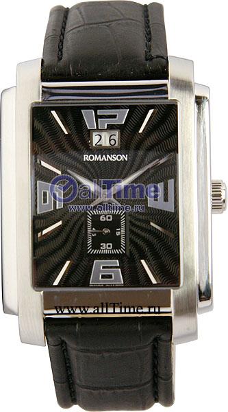 Мужские часы Romanson TL5140SMW(BK)
