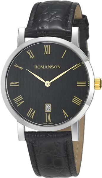 Мужские часы Romanson TL5507CMC(BK)