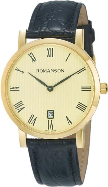 Мужские часы Romanson TL5507CMG(GD) romanson rm 9207q lj gd