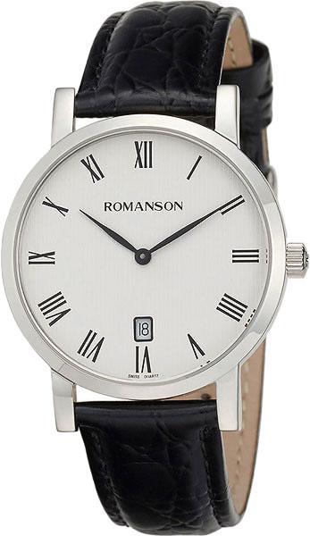 Мужские часы Romanson TL5507CMW(WH) цена и фото