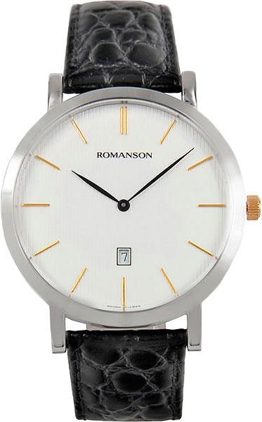 Фото - Мужские часы Romanson TL5507CXC(WH) бензиновая виброплита калибр бвп 13 5500в