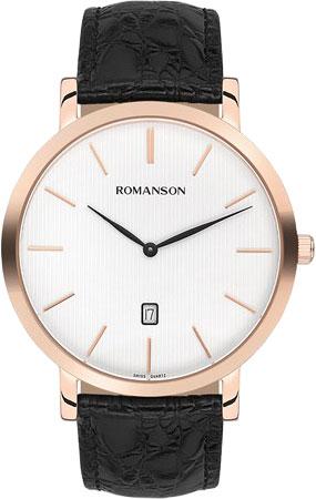 Мужские часы Romanson TL5507CXR(WH) цена и фото