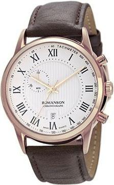 лучшая цена Мужские часы Romanson TL5A22HMR(WH)