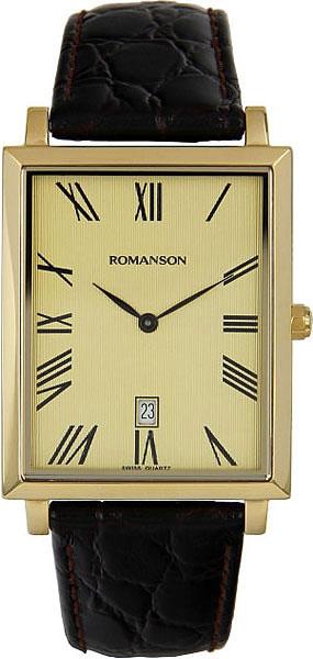 Мужские часы Romanson TL6522CMG(GD) romanson rm 9207q lj gd