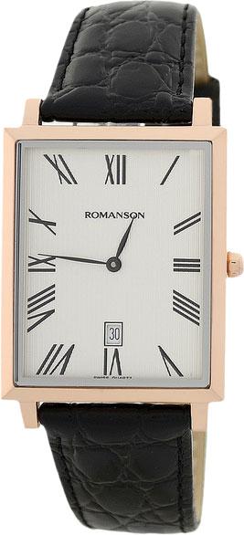 Мужские часы Romanson TL6522CMR(WH)
