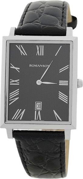 все цены на Мужские часы Romanson TL6522CMW(BK) онлайн