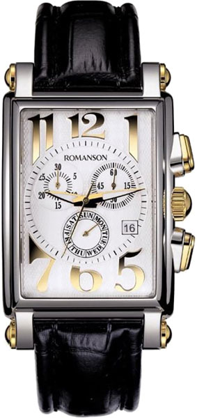 Мужские часы Romanson TL6599HMC(WH) цена