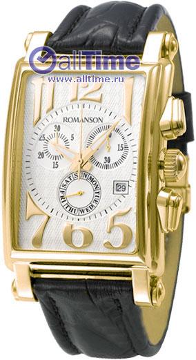 Мужские часы Romanson TL6599HMG(WH) romanson часы romanson tm7237mj wh коллекция adel