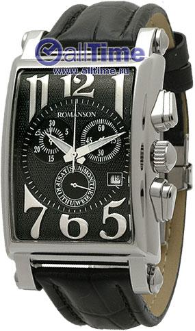 Мужские часы Romanson TL6599HMW(BK)