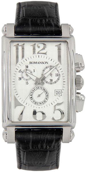 цена Мужские часы Romanson TL6599HMW(WH) онлайн в 2017 году