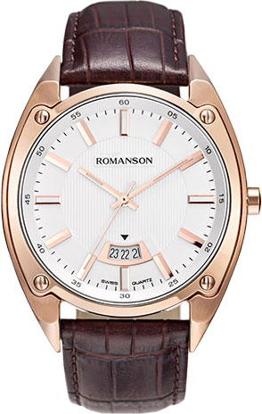 Мужские часы Romanson TL6A20MMR(WH)