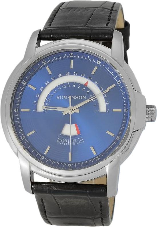 Мужские часы в коллекции Adel Мужские часы Romanson TL6A21CMW(BU) фото
