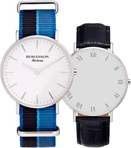 Женские часы Romanson TL6A30UUW(WH)BU romanson rl 6a11q lw bu