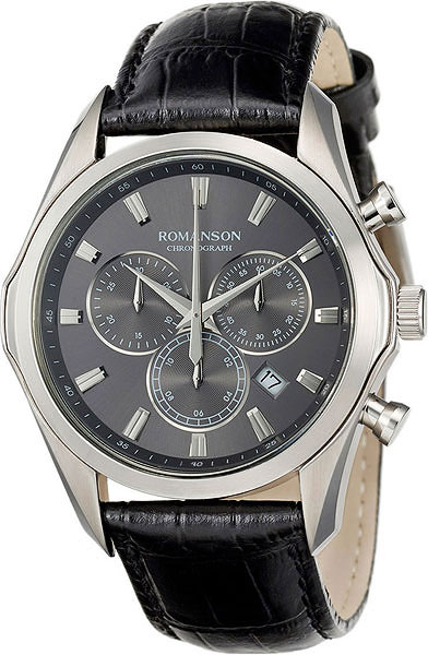 Мужские часы Romanson TL6A35HMW(GR) цена