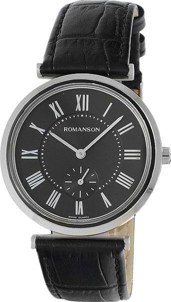 Мужские часы в коллекции Adel Мужские часы Romanson TL6A36MMD(BK) фото