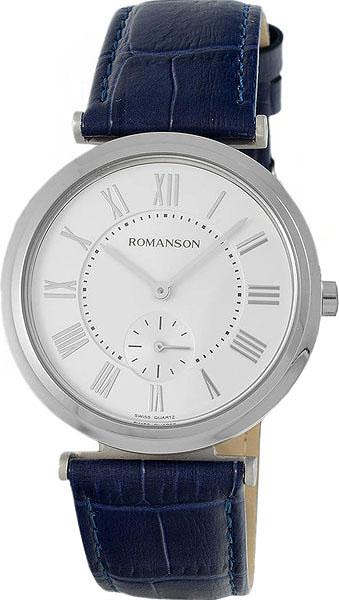 цена Мужские часы Romanson TL6A36MMW(WH) онлайн в 2017 году