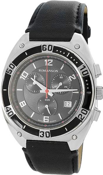 Мужские часы Romanson TL6A38HMW(BK) все цены