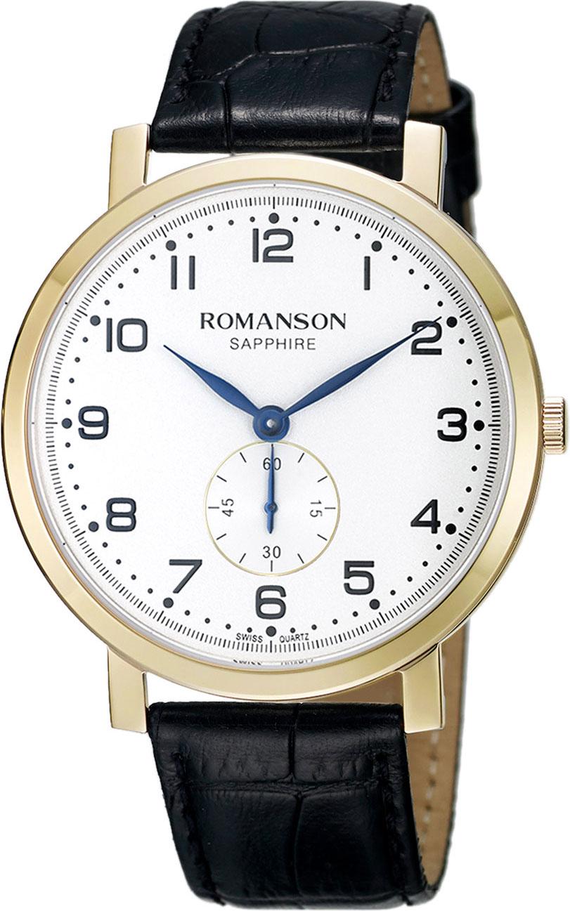 Мужские часы Romanson TL7A09BMG(WH)