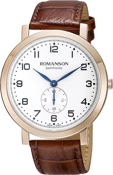лучшая цена Мужские часы Romanson TL7A09BMR(WH)