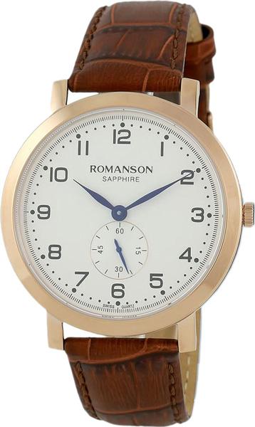 лучшая цена Мужские часы Romanson TL7A09MMR(WH)