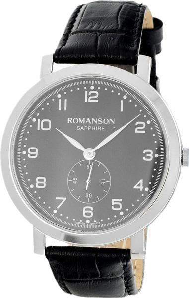 лучшая цена Мужские часы Romanson TL7A09MMW(BK)
