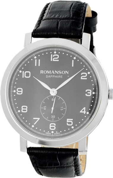 Мужские часы Romanson TL7A09MMW(BK)