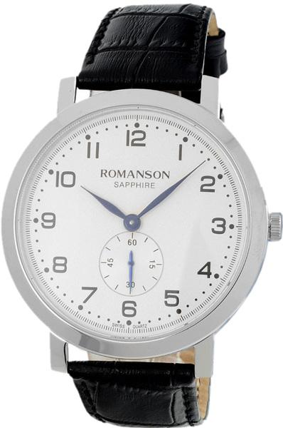 лучшая цена Мужские часы Romanson TL7A09MMW(WH)