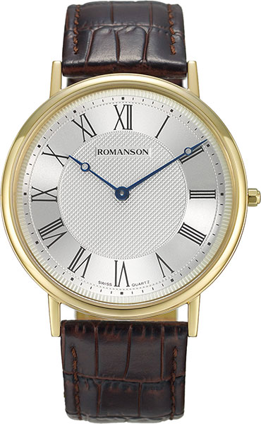 лучшая цена Мужские часы Romanson TL7A24BMG(WH)