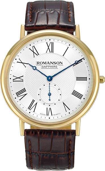 Мужские часы Romanson TL7A24CMG(WH) мужские часы romanson tl5140smc wh