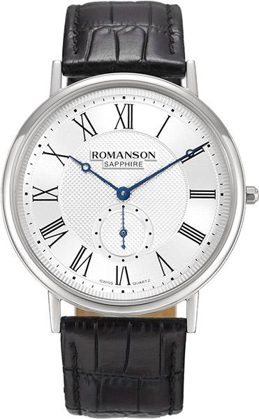 Мужские часы Romanson TL7A24CMW(WH) мужские часы romanson tl5140smc wh