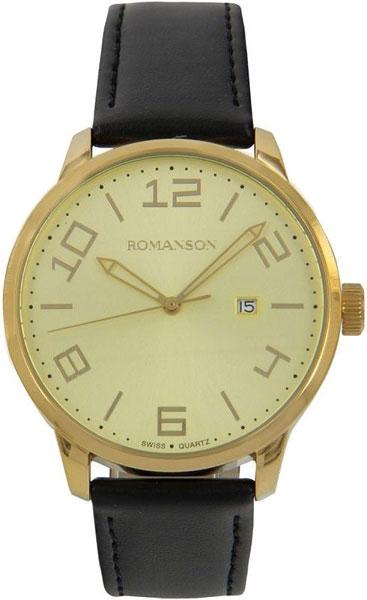 Мужские часы Romanson TL8250BMG(GD) мужские часы romanson tl0334mg gd