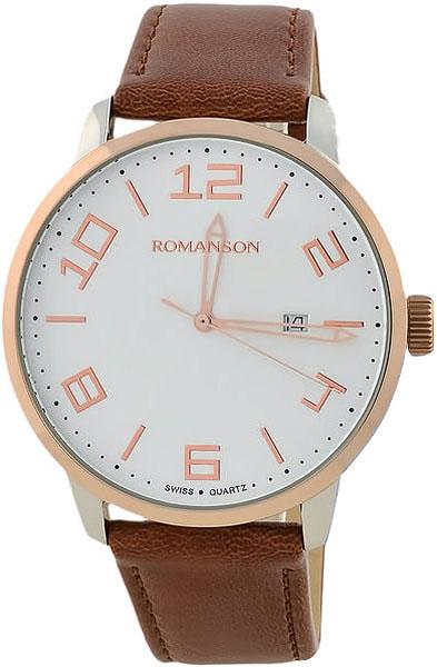 Мужские часы Romanson TL8250BMJ(WH) цена и фото