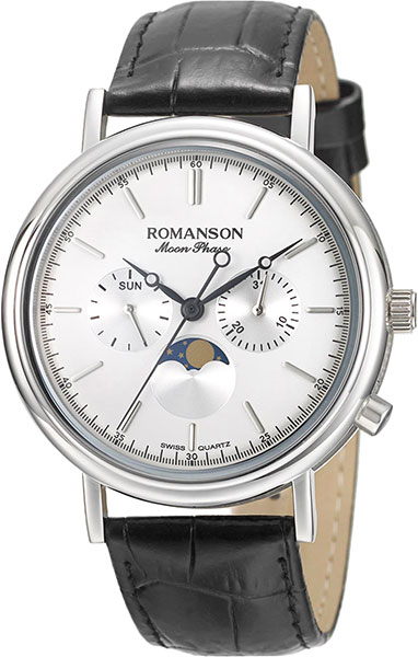 Мужские часы Romanson TL8A03FMW(WH)