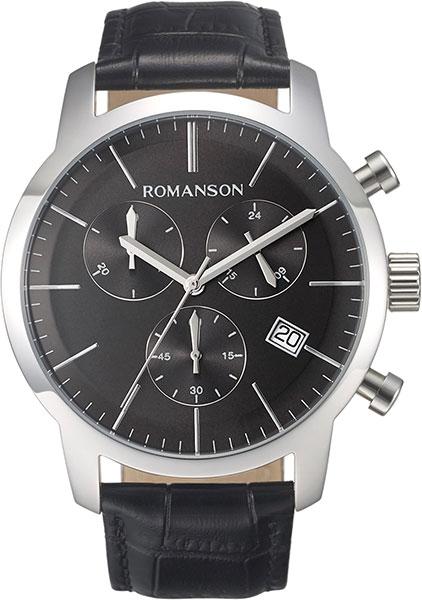 Мужские часы Romanson TL8A19HMW(BK)