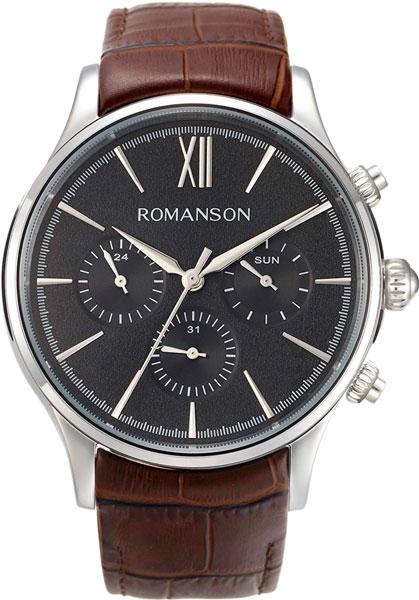 Мужские часы Romanson TL8A25FMW(BK)BN