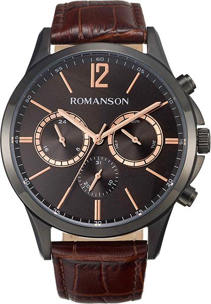 Мужские часы Romanson TL8A26FMB(BK) мужские часы romanson tm8a19hmb bk