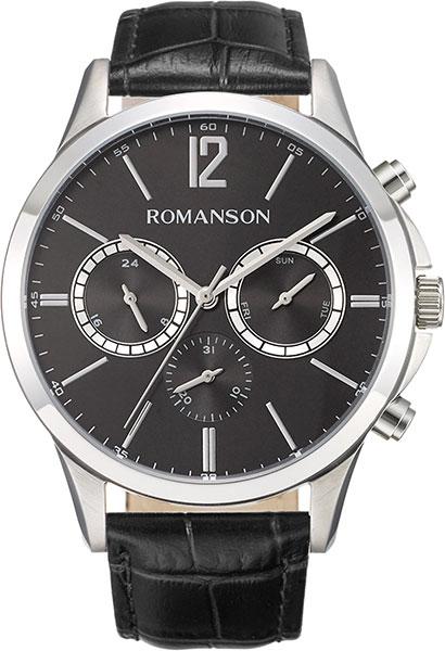 цены Мужские часы Romanson TL8A26FMW(BK)