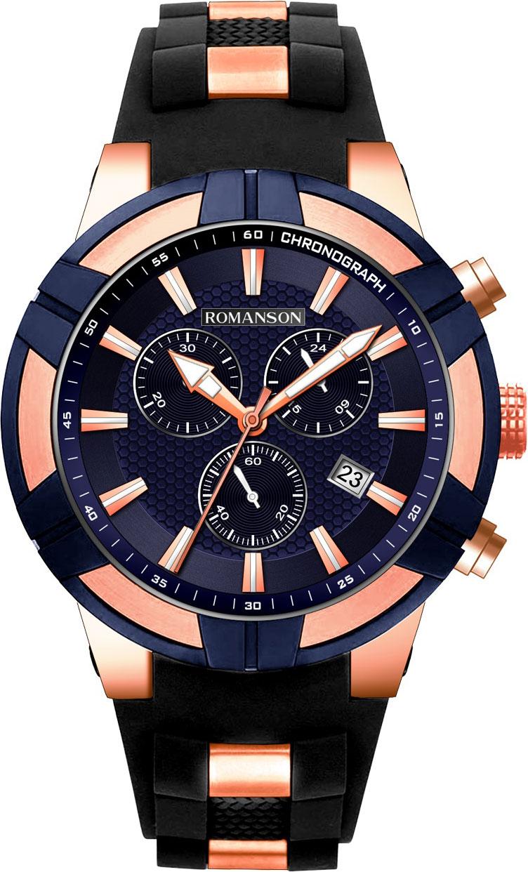 Мужские часы в коллекции Adel Мужские часы Romanson TL8A37HMK(BU) фото
