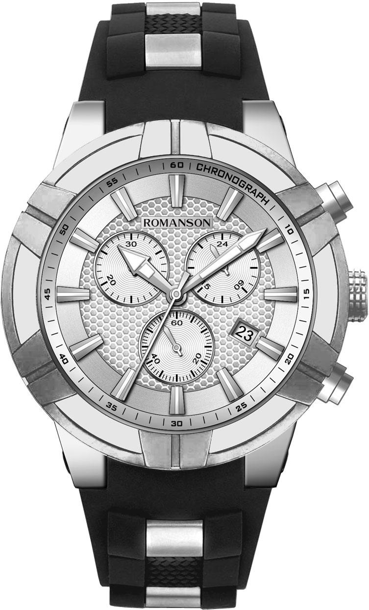 Мужские часы Romanson TL8A37HMW(WH)
