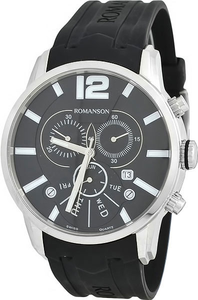Мужские часы Romanson TL9213HMWBK