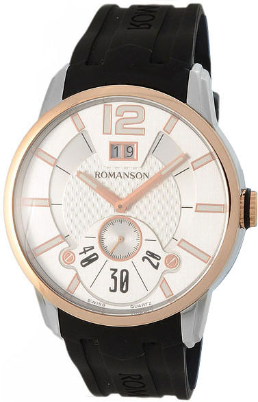 Мужские часы Romanson TL9213MJ(WH) romanson tm 9248 mj wh