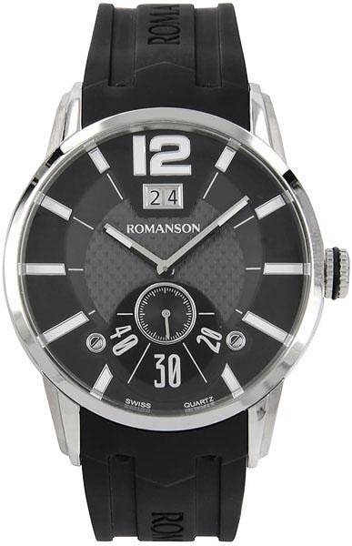 Мужские часы Romanson TL9213MW(BK)