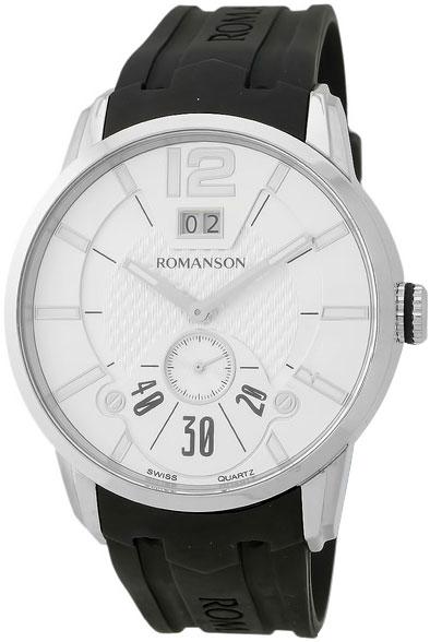 Мужские часы Romanson TL9213MW(WH) romanson tl 9225 mw wh