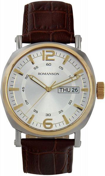 Мужские часы Romanson TL9214MC(WH) мужские часы romanson tl9214mc wh