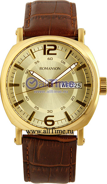 Мужские часы Romanson TL9214MG(GD) romanson tl 9214 mj wh
