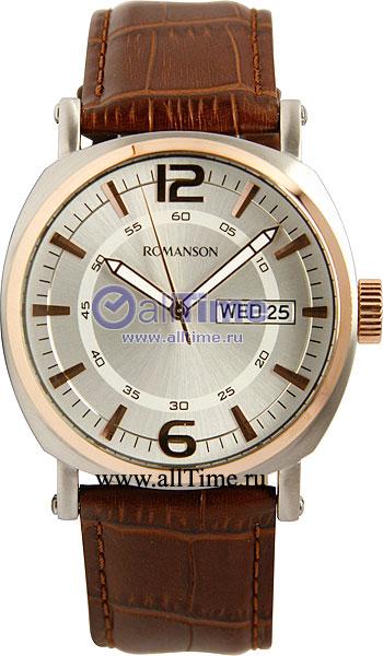 Мужские часы Romanson TL9214MJ(WH) romanson tm 9248 mj wh
