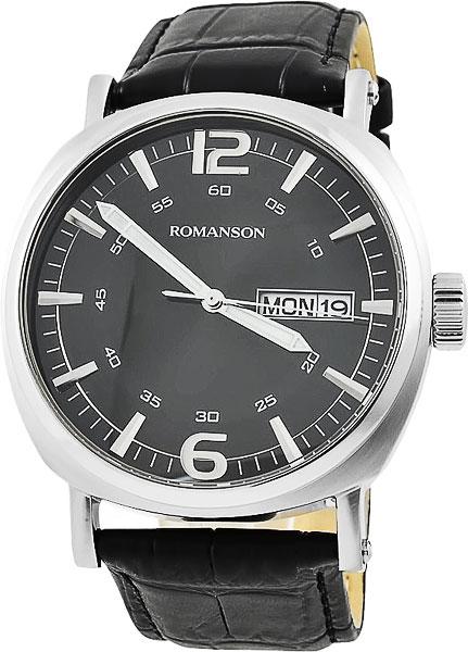 Мужские часы Romanson TL9214MW(BK) romanson tl 9214 mj wh